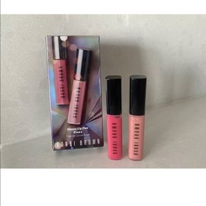 Bobbi Brown PINK Duo Shimmer Lip Gloss. BNIB